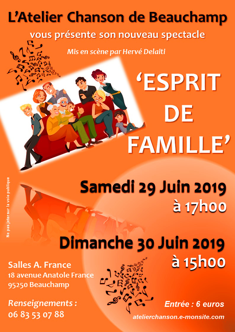 AFFICHE spectacle JUIN 2019
